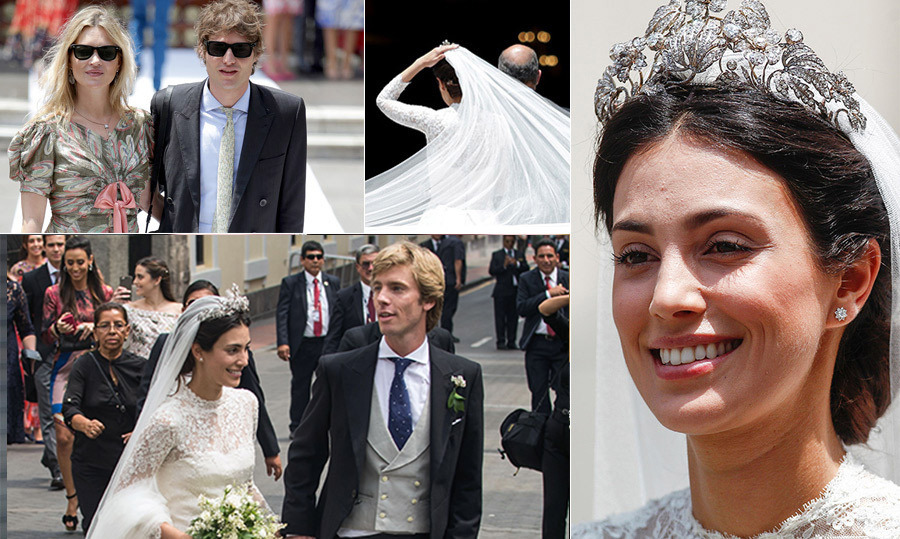 "<p><strong>I do...again! <a href=""/tags/0/prince-christian-of-hanover/"">Prince Christian of Hanover</a> and his wife <a href=""/tags/0/alessandra-de-osma/"">Alessandra de Osma</a> gathered family and friends for a second wedding in the bride's native Peru. The pair tied the knot during a civil ceremony in London on November 26, 2017 and are now keeping the celebration of their love going with a religious ceremony in Lima. Click through for a look at highlights from the royal affair.</strong></p>