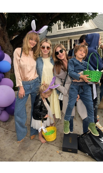 Celebrities and their adorable children got a jumpstart on Easter, when they flocked to the Akid's 3rd annual Egg Hunt at Lombardi House on Saturday, March 17 in L.A.