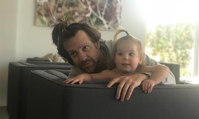 "Olivia Wilde shared the cutest photo of fiance Jason Sudeikis and their little girl Daisy rocking matching half ponytails. The hilarious actress captioned the photo: ""I do hair. DM for inquiries. *Clients tend to sob and/or undo my work immediately."" The fun-loving couple has two children - three-year-old Otis and 17-month-old Daisy.   