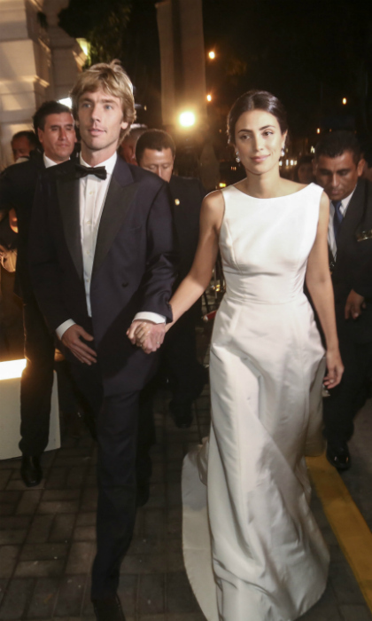 "<p><strong>I do... again! Prince Christian of Hanover and his wife Alessandra de Osma gathered family and friends for a second wedding in the bride's native Peru. The pair tied the knot during a civil ceremony in London on November 26, 2017 and are now keeping the celebration of their love going with a religious ceremony in Lima. Click through for a look at highlights from the <a href=""https://us.hola.com/en/royalty/"">royal</a> affair.</strong></p>