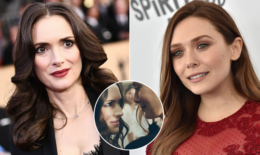 ed856975d849 Winona Ryder and Elizabeth Olsen star in new H&M girl power campaign ...