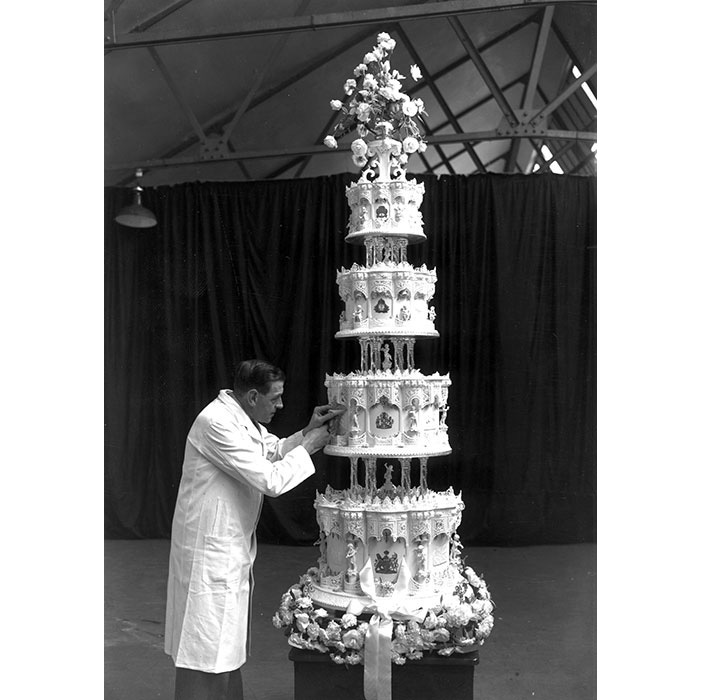 British Royal Wedding Cakes: Royal Wedding Cakes Through The Years