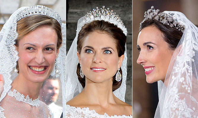 Real Royal Weddings: Royal Weddings: The Most Breathtaking Tiaras Worn By Royal