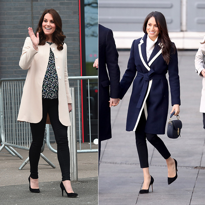 <strong>Black pants and pumps</strong>