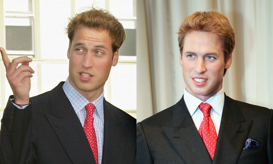 A young Prince William rocked a red tie while in New Zealand back in 2005. His dapper, double-breasted look took the spotlight at Madame Tussauds that same year in London, where aspiring princesses were sure to have snapped photos with wax Wills. 