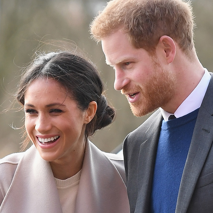 Meghan and Harry were in typically high spirits, enjoying each others' company and sharing quite a few chuckles.