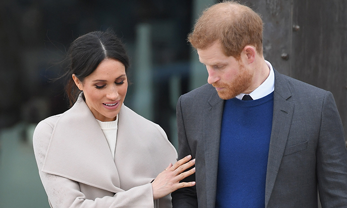 The couple shared a sweet moment as they left the Titanic Belfast full of maritime knowledge! The Queen has also visited the Irish tourist attraction. 
