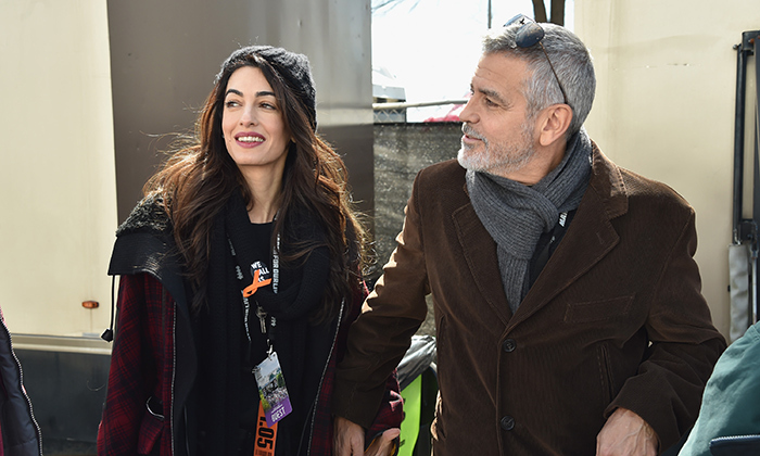 George and Amal Clooney have been vocal supporters of the cause, stepping out at the D.C. rally to join thousands of students.