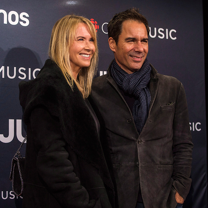 Eric McCormack and his wife Janet Holden