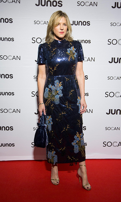 Diana Krall at the JUNO Gala