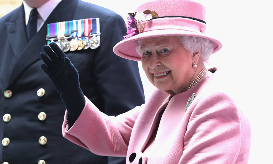 <p>Her Majesty attended the decommissioning ceremony for HMS Ocean on March 27.</p>
