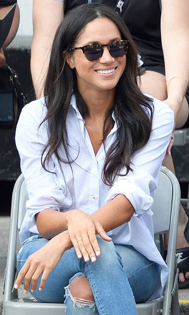 5369f21988 Meghan Markle s  230 Invictus Games sunglasses back in stock after ...