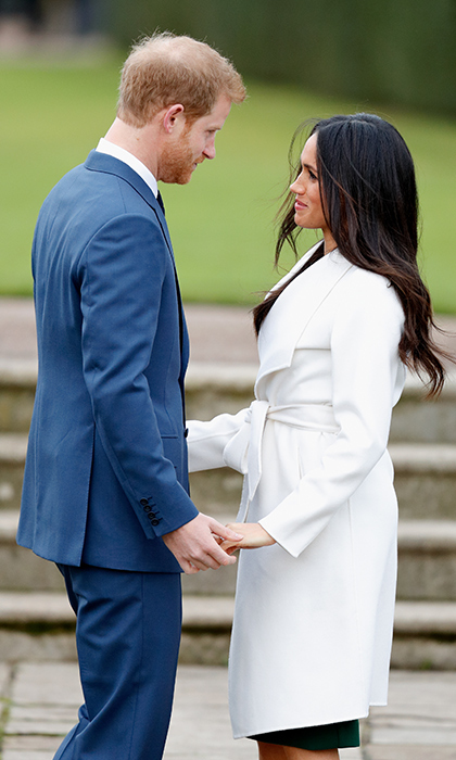 <p>They looked <em>so</em> in love at their official royal engagement photo call last November.</p>