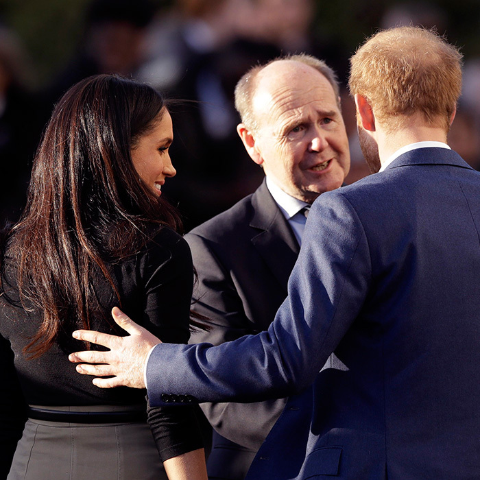 <p>They're never too far away from each other – not even in the hectic bustle of a royal walkabout.</p>