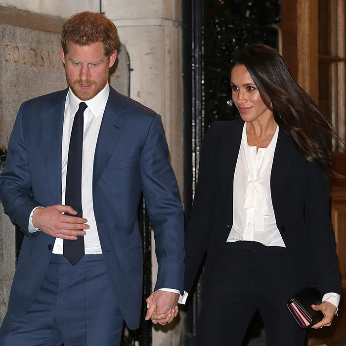 <p>Date night! It's hard to catch these two <em>not</em> holding hands.</p>