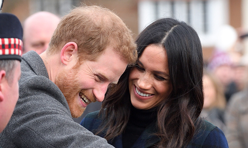 <p>Remember when a certain pony nipped at Prince Harry in Scotland? Meghan does!</p>