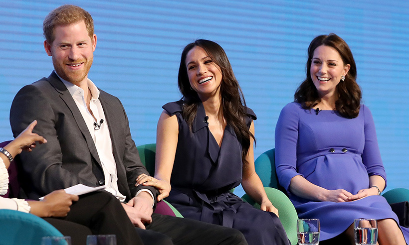 <p>Harry had the 'Fab Four' in stitches during the first annual Royal Foundation Forum back in February.</p>