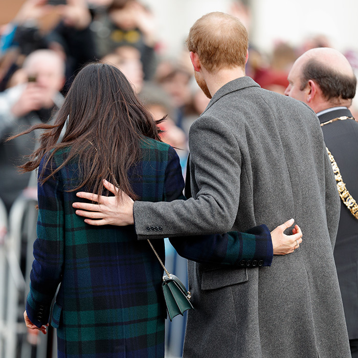 <p>Never far apart, Meghan and Harry were attached at the hip while on a royal outing in Edinburgh, Scotland.</p>