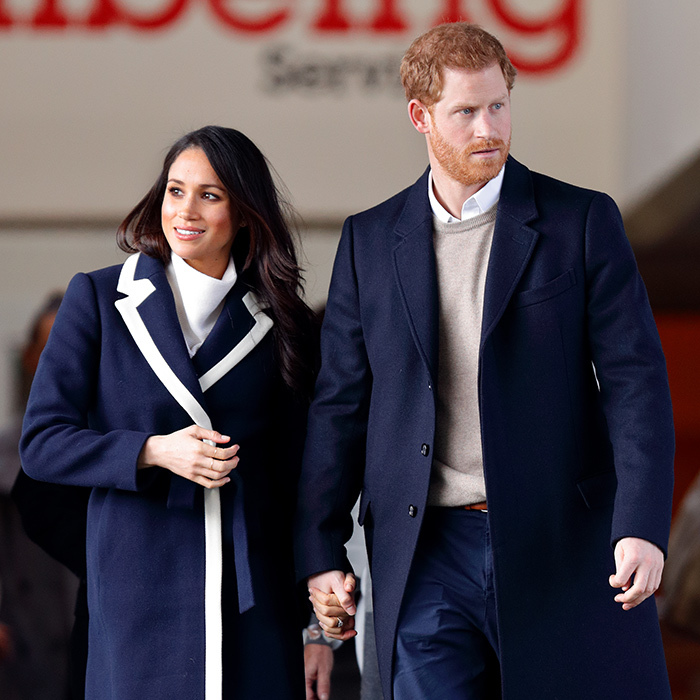 <p>The royal couple clasped hands while on a royal engagement in Birmingham.</p>