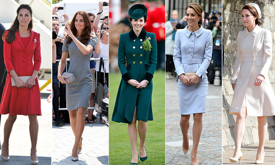 <p>One thing that Kate and her late mother-in-law Princess Diana share is an adoration for British fashion house Catherine Walker. Diana often wore the brand for official engagements, and Kate has followed suit by choosing tailored Catherine Walker looks for high profile outings. </p>