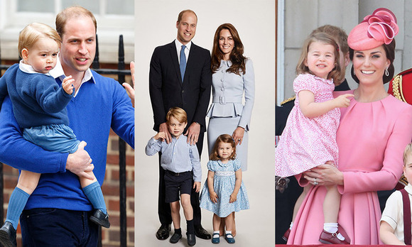 While we keenly follow Duchess Kate's flawless style, we adore it even more when she steps out with husband Prince William and their children Prince George and Princess Charlotte. Why? Because when it comes to their wardrobes, the Cambridges are definitely in sync! William and Kate love to coordinate with their kids, from tours to official appearances, favouring blues, pinks and burgundy. Click through to see all the times the royal family has dressed alike...