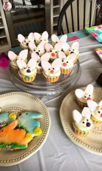 <p>Jenna Dewan Tatum clearly had a blast baking some delicious Easter treats this weekend! She gave fans a sneak peek on Instagram.</p>