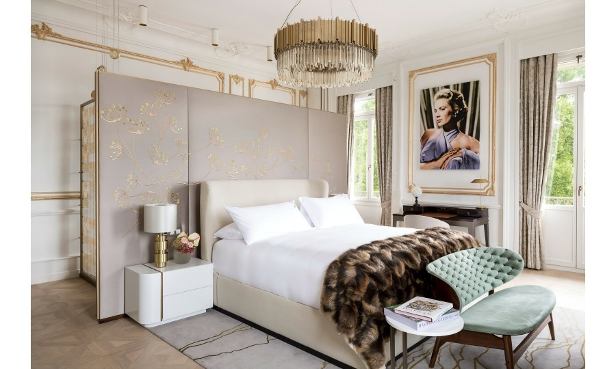 A suite that notably hosted Grace Kelly in Geneva has been refurbished to princess perfection at the Ritz Carlton Hotel de la Paix. The Swiss resort, formerly known as the Hotel de la Paix, called the Princess of Monaco a guest in the late 1960s. Now, to pay homage to the former actress more than fifty years later, the Ritz has borrowed from Grace's gorgeous style to give the suite a makeover.