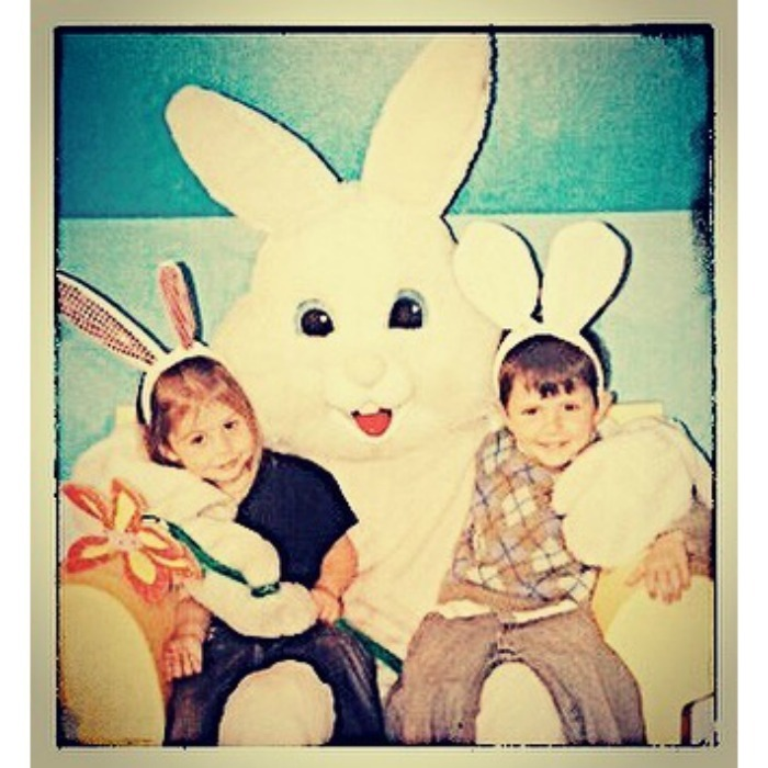 "Catherine Zeta-Jones marked the holiday with a sweet Instagram throwback to simpler times with her kids. ""Happy Easter to my bunnies❤️"" she wrote.