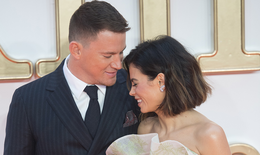 <p>It was rare for these lovebirds to hit up a red carpet without sharing an adorable moment like this one at the world premier of <em>Kingsman: The Golden Circle</em> last September.</p>