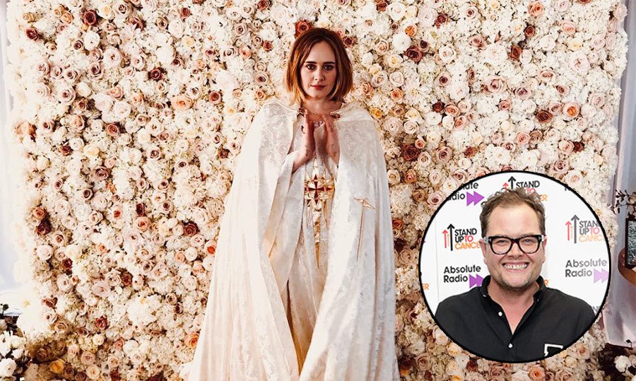"<p>Can you imagine Adele singing at your wedding... and officiating, too? Well, British comedian Alan Carr was #blessed as he married Paul Drayton, his partner of ten years, in January – and the ""Rolling in the Deep"" star got ordained just so she could marry the two! Alan first revealed details of the Los Angeles ceremony earlier this week, sharing that Adele organized the whole day, hosted it in her backyard and acted as wedding singer. During an appearance on British talk show <em>This Morning</em>, he further revealed that Adele had actually also officiated the wedding.</p>