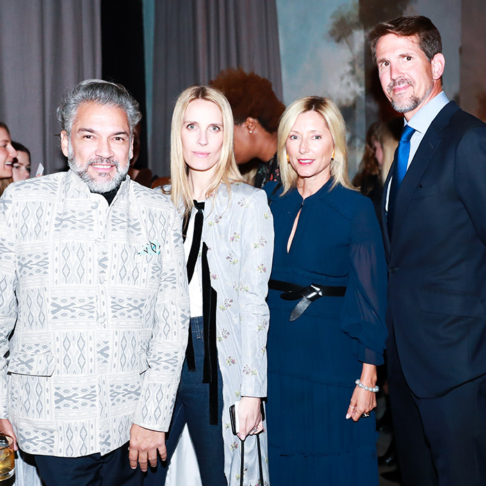 <p>Crown Princess of Greece Marie-Chantal was out and about in the Big Apple celebrating friend Tory Burch's latest fragrance launch with her husband, Crown Prince Pavlos.</p>