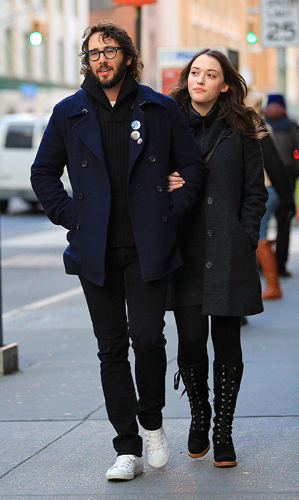 <h2>Josh Groban and Kat Dennings</h2>