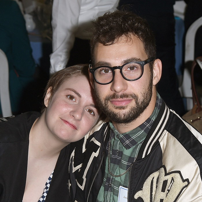 <h2>Lena Dunham and Jack Antonoff</h2>