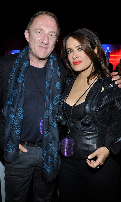 <h2>François-Henri Pinault and Salma Hayek</h2>