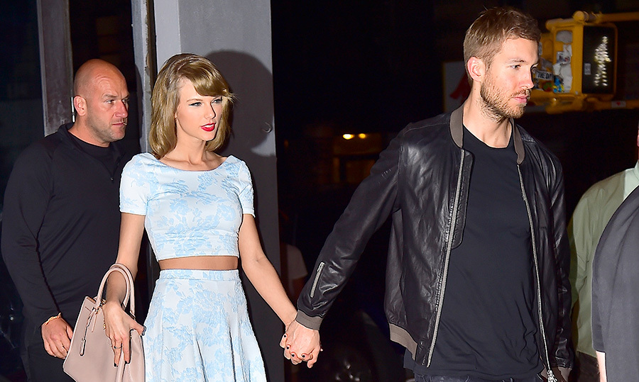 <h2>Taylor Swift and Calvin Harris</h2>