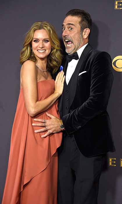<h2>Hilarie Burton and Jeffrey Dean Morgan</h2>