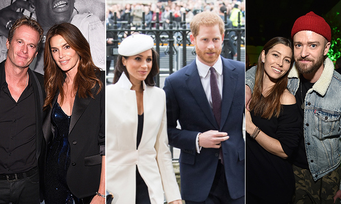 "From royals to top names in film, music and fashion, even celebrities need the help of a matchmaker sometimes. <a href=""/tags/0/prince-harry/"">Prince Harry</a> and <a href=""/tags/0/meghan-markle/"">Meghan Markle</a> were famously set up by a mutual friend (<a href=""https://ca.hellomagazine.com/royalty/02018012442070/violet-von-westenholz-matchmaker-prince-harry-meghan-markle/"">most recently reported to be Violet von Westenholz</a>), joining the ranks of Rande Gerber and Cindy Crawford, Jessica Biel and <a href=""/tags/0/justin-timberlake"">Justin Timberlake</a>, and many more. While not all are blind dates in the conventional sense, we are talking about Hollywood romance after all! Click through to see all the twosomes whose love is or was the product of Cupids...