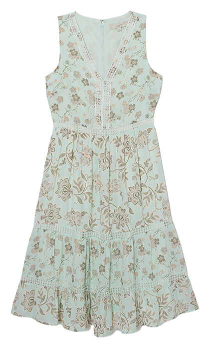 <p>This breezy midi dress is the epitome of a spring wedding outfit, but with it's relaxed and romantic style, you'll want to reach for it well into summer.</p>