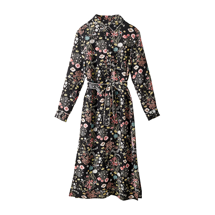 <p>This floral shirt dress is perfect for a casual city hall wedding and you can totally wear it straight to the celebratory lunch or dinner that follows.</p>
