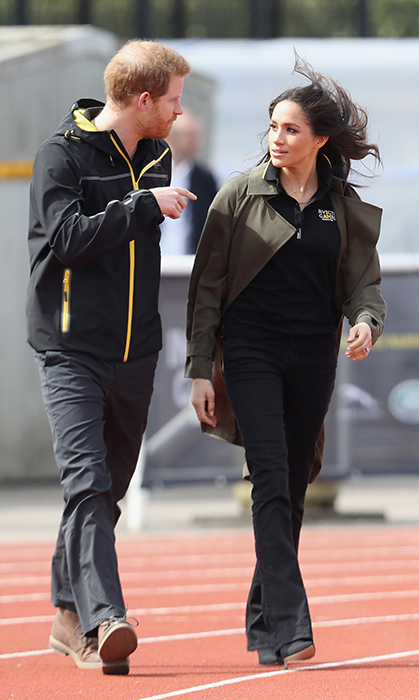 The royal duo made their very first official appearance together at the Invictus Games last year in Meghan's former home base of Toronto, so naturally the event is close to both of their hearts.