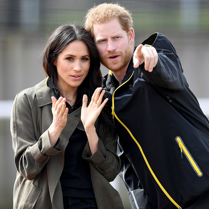 Meghan and Harry watched the trials intently side-by-side.<p>Photo: &copy; Getty Images