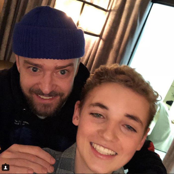 Justin Timberlake reunited with Selfie Kid during his Boston tour date for Man of the Woods. After going viral during the Super Bowl halftime show, Ryan McKenna had appeared on <em>The Ellen DeGeneres Show</em> where he was surprised with tickets. The 13-year-old posted yet another selfie with the singer and the caption: Great time meeting @justintimberlake #manofthewoodstour !! #selfie 盧"