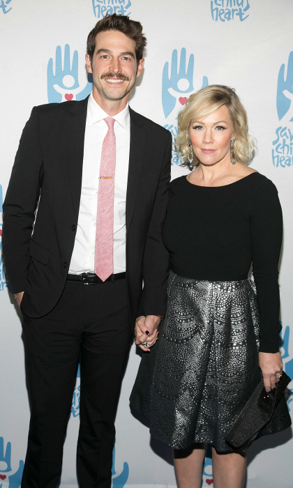 <h2>Jennie Garth and David Abrams</h2>