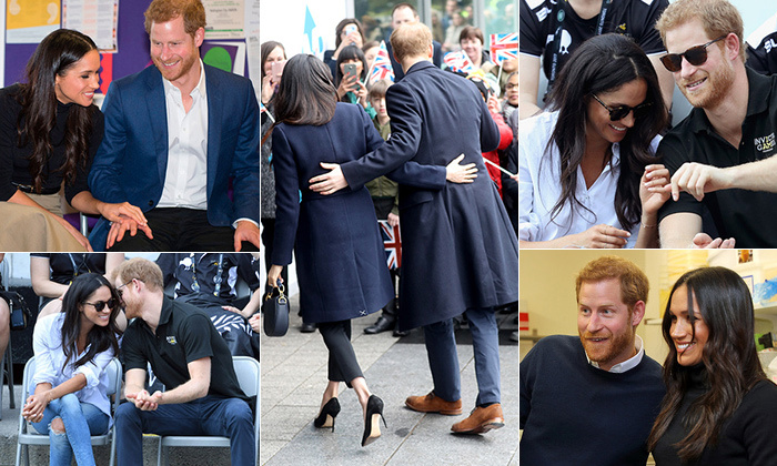 "<p><a href=""https://ca.hellomagazine.com/tags/0/meghan-markle""><strong>Meghan Markle</strong></a> and <a href=""https://ca.hellomagazine.com/tags/0/prince-harry""><strong>Prince Harry</strong></a> are totally smitten, and the world  adores their love story as much as they enjoy one another. The royal and the former actress have been inseparable since <a href=""https://ca.hellomagazine.com/celebrities/02018040444112/celebrities-who-met-on-blind-dates/2""><strong>their first blind date</strong></a> in London back in 2016. After keeping their relationship tightly under wraps for nearly a year, the duo made their official debut at the <a href=""https://ca.hellomagazine.com/royalty/02017092538904/meghan-markle-makes-graceful-royal-debut/""><strong>Invictus Games in Toronto</strong></a> in 2017, swiftly followed by their highly anticipated engagement in November.</p>
