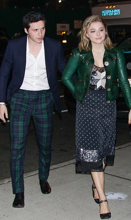 <h2>Brooklyn Beckham and Chloe Grace Moretz</h2>