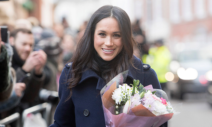 Meghan owes her glowing skin to facials by celebrity favourite Sarah Chapman.