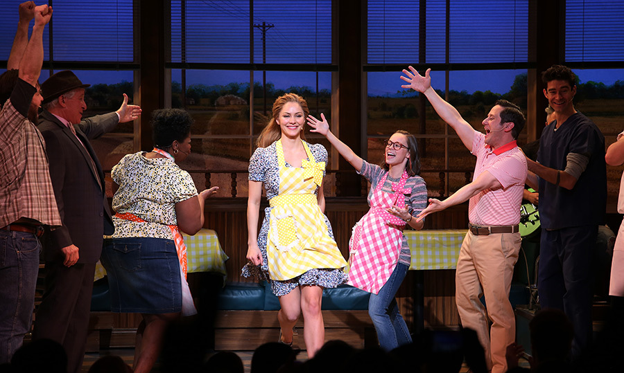 <p>Katharine McPhee, the runner-up for <em>American Idol</em>'s fifth season, made her big Broadway debut in the musical <em>Waitress</em> on April 10. The production is based on a 2007 novel by Jessie Nelson and tells the story of a Southern diner employee who dreams of escaping her abusive marriage. Her character channels her energies into creating inventive pies at the diner, while having a steamy affair with a doctor on the side!</p>