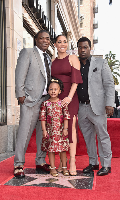 <p>Los Angeles has a new star, and it's Tracy Morgan's! The comedian posed with his gorgeous kids Maven, 4, and Tracy Morgan Jr., 26, as well as his wife Megan Morgan at his Hollywood Walk of Fame on April 10.</p>