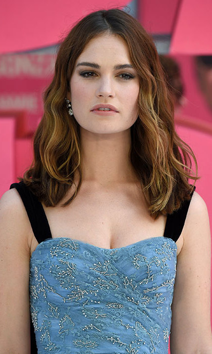 <h2>Lily James</h2>