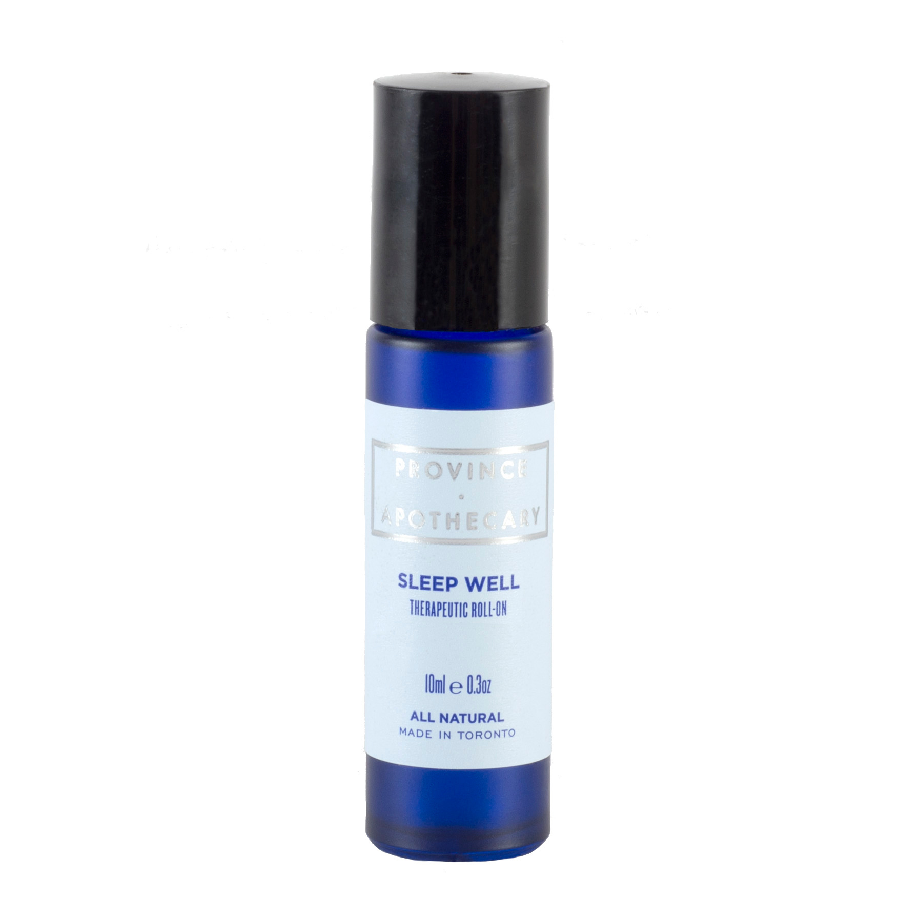 Apply the roll-on directly under your nose and breathe in the smell of lavender, petit grain, Melissa and ylang-ylang.